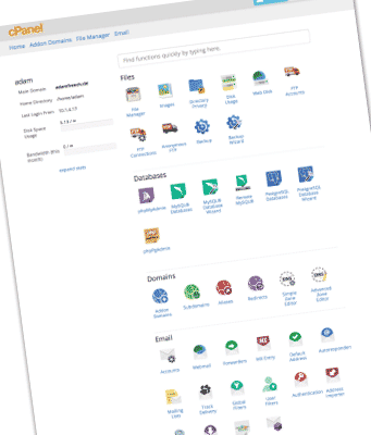 cPanel User Guide